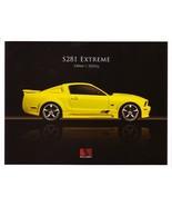 2007 Saleen S281 EXTREME sales brochure folder Mustang 07 - $9.00