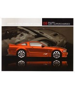 2008 Saleen S281 SUPERCHARGED sales brochure card sheet Mustang 08 - $9.00
