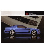 2008 Saleen H302 3-VALVE sales brochure card sheet Mustang 08 - $9.00