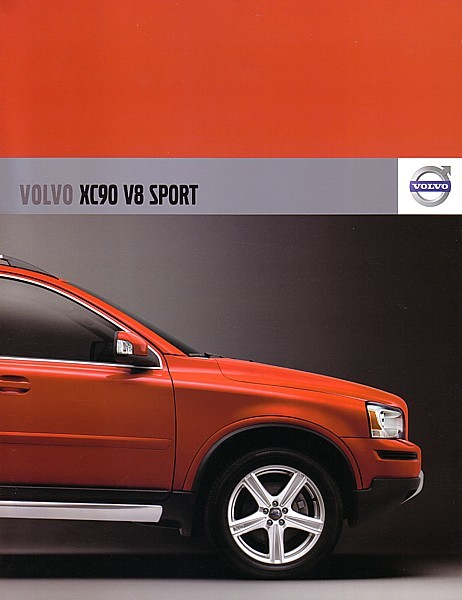 2007 Volvo XC90 V8 SPORT sales brochure catalog US 07