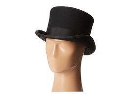 Scala Classico Men's Wool Felt English Topper Hat, Black, X-Large - $45.00