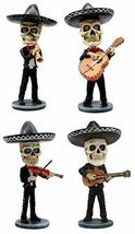 Ebros Day Of The Dead Skeleton Wedding Mariachi Band Guitar Violin Guita... - $89.09