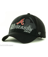 Atlanta Braves 47 Brand 2013 MLB Baseball Post Season Adjustable Cap Hat - $18.99