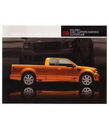 2008 Saleen S331 SC SUPERCAB sales brochure card sheet F-150 08 - $9.00