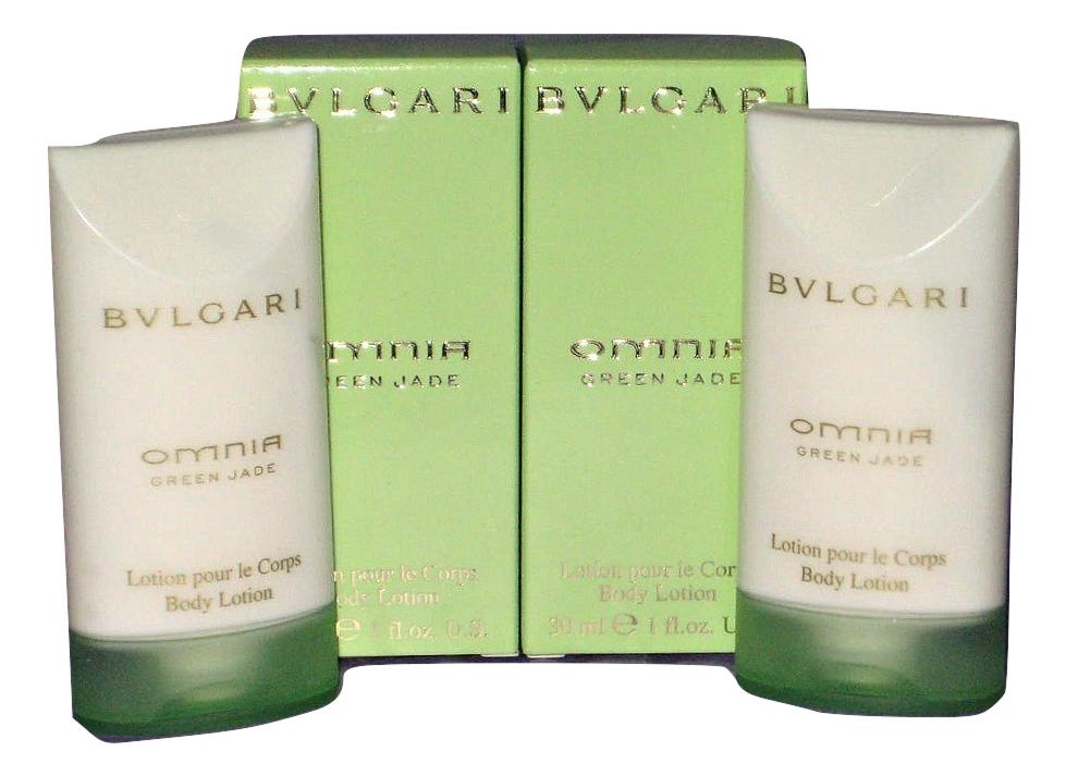Bulgari Omnia Green Jade Body Lotion - Lot of 2