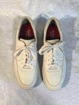 Rockport Prowalker Size 11.5 Casual Oxford Leather Mens Sneakers Shoes walking - $45.80