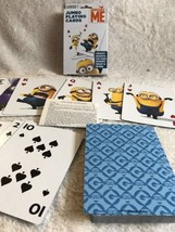 Despicable Me Jumbo Playing Cards - Minions Rummy Snap Go Fish Crazy Eig... - $9.79