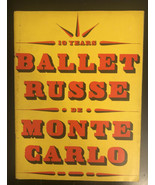 1948-1949 BALLET RUSSE DE MONTE CARLO PROGRAM - GREAT PHOTOS - J 2617 - $74.25