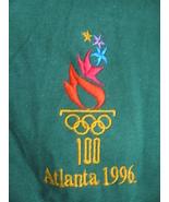 NWT 1996 Atlanta Olympic T-Shirt Men's XL Green... - $20.00