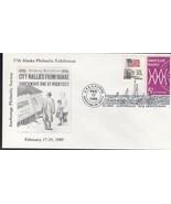 CITY RALLIES FROM QUAKE ALASKA PHILATELIC EXHIBITION ANCHORAGE ALASKA 2/... - $1.78
