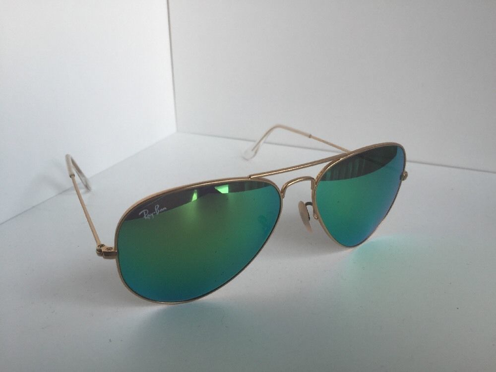 8ab28ee95e S l1600. S l1600. Aviator Ray-Ban RB 3025 RB3025 112 19 58mm Gold Green  Sunglasses. Aviator Ray-Ban RB 3025 RB3025 ...