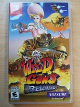 Wild Guns Reloaded (Nintendo Switch 2018) Tested Working - $23.75