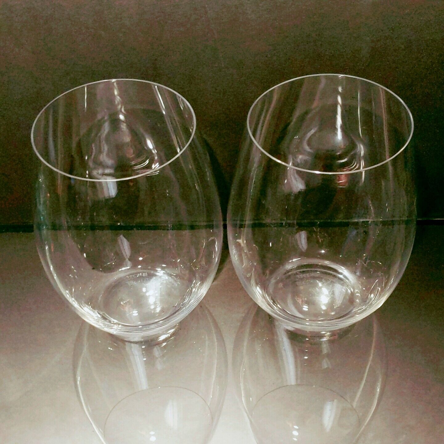 2 (Two) RIEDEL O Wine Tumblers Cabernet - Signed image 2