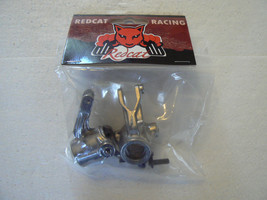 ALUMINIUM STEERING KNUCKLES REDCAT AFTERSHOCK BACKDRAFT SHREDDER BS903-111 - $29.95