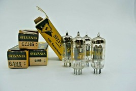 Sylvania 6AH8 Audio Video Electronic Electron Tube Lot of 4 - $24.00