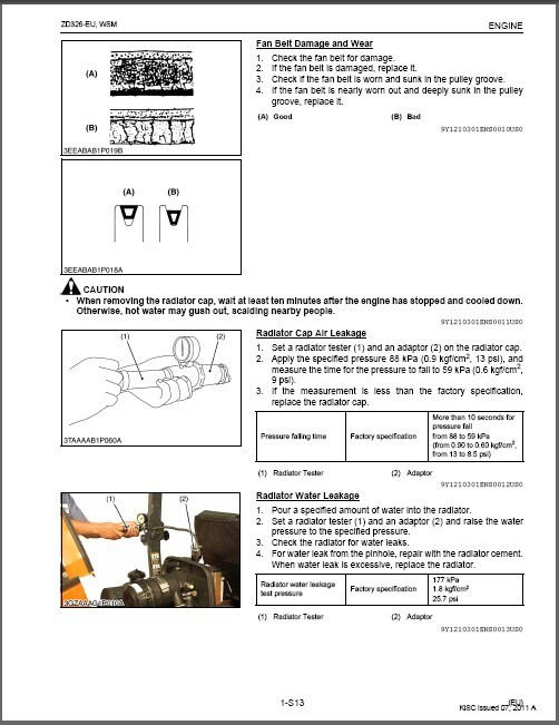 Kubota ZD326 Zero Turn Mower WSM Service and 27 similar items