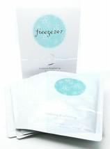 Freeze 24/7 Nwt Radiance Brillo Máscara Facial 8 Gel Máscaras Beta-Carotene - $12.36