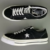 Converse One Star Patta x Deviation Low Top Shoes Mens Size 7.5 Black Wo... - £84.96 GBP