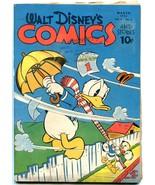 Walt Disney's Comics and Stories #42 1944-- Donald Duck- Carl Barks  VG - $212.19