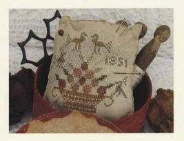 Berry Basket cross stitch chart Niky's Creations - $11.70
