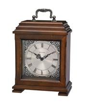 "Bulova B1532 Document Tabletop Clock, 12"", Brown Cherry Finish - $69.62"