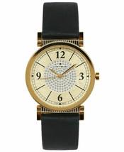 Lucky Brand Women's Carmel Navy Leather Strap Watch 34mm - $122.49