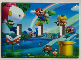 Super Mario Bro Light Switch Power Duplex Outlet Wall Plate Cover Home Decor image 4