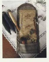 Lady Sewing Roll cross stitch chart Niky's Creations - $11.70