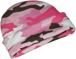 Preemie & Newborn Baby Girl's Pink Camouflage Hat - $9.00