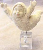 Dept. 56 Snow Babies Flying on Ice Cube - $12.86