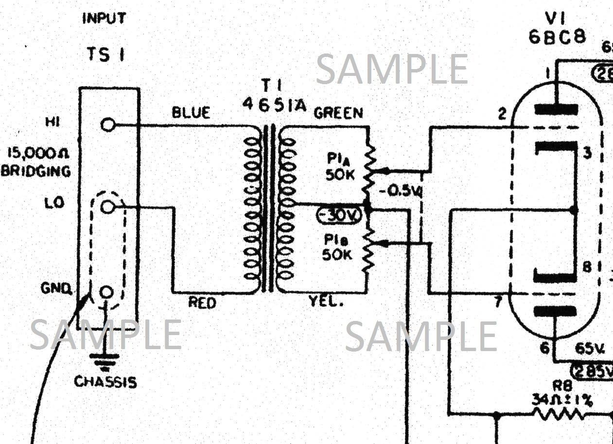 46 Tube Amplifier Schematic Trusted Wiring Diagrams Amp Diagram Altec 436c Compressor Owner And 30 Similar Items 5 Watt Schematics