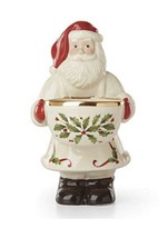 Lenox Bake Shop Santa Candy Dish 8 Inch Hosting For Holiday - $41.88