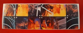 Vintage Star Wars Empire Strikes Back Adesivi Super Scena Collezione Coc... - $24.75