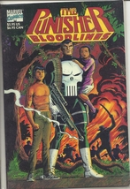 (CB-16) 1991 Marvel Comic Book: The Punisher - Bloodlines { Squarebound, $5.95 } - $5.00