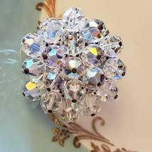 Vintage austrian crystal brooch - $19.80