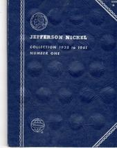 Coin Folder - Jefferson Nickels 1938-1961 - $4.50
