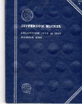 Coin Folder - Jefferson Nickels 1938-1961 - $4.50