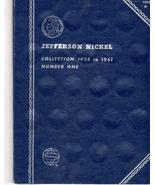 Coin Folder - Jefferson Nickels 1938-1961 - $5.00