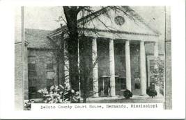 Vtg Postcard  RPPC Desoto County Court House - Hernando, Mississippi - U... - $39.95