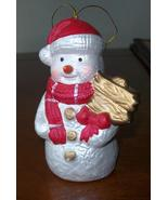 snowman christmas tree  hanging decoration - $4.99