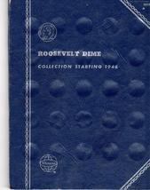 Coin Folder  Roosevelt Dimes 1946 - 1976 - $4.50