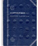 Coin Folder  Roosevelt Dimes 1946 - 1976 - $5.00