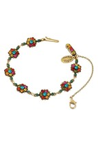 Michal Negrin Ellie Bracelet Swarovski Multi-Color #100129030046 - $111.87