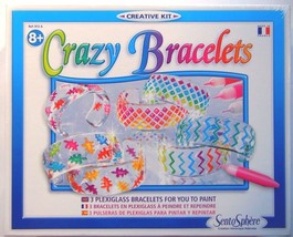 NEW Crazy Bracelets Creative Kit -MADE IN FRANCE Homemade Jewelry - $29.99
