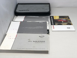 2004 Nissan Maxima Owners Manual Set with Case Handbook OEM Z0B11 - $15.35