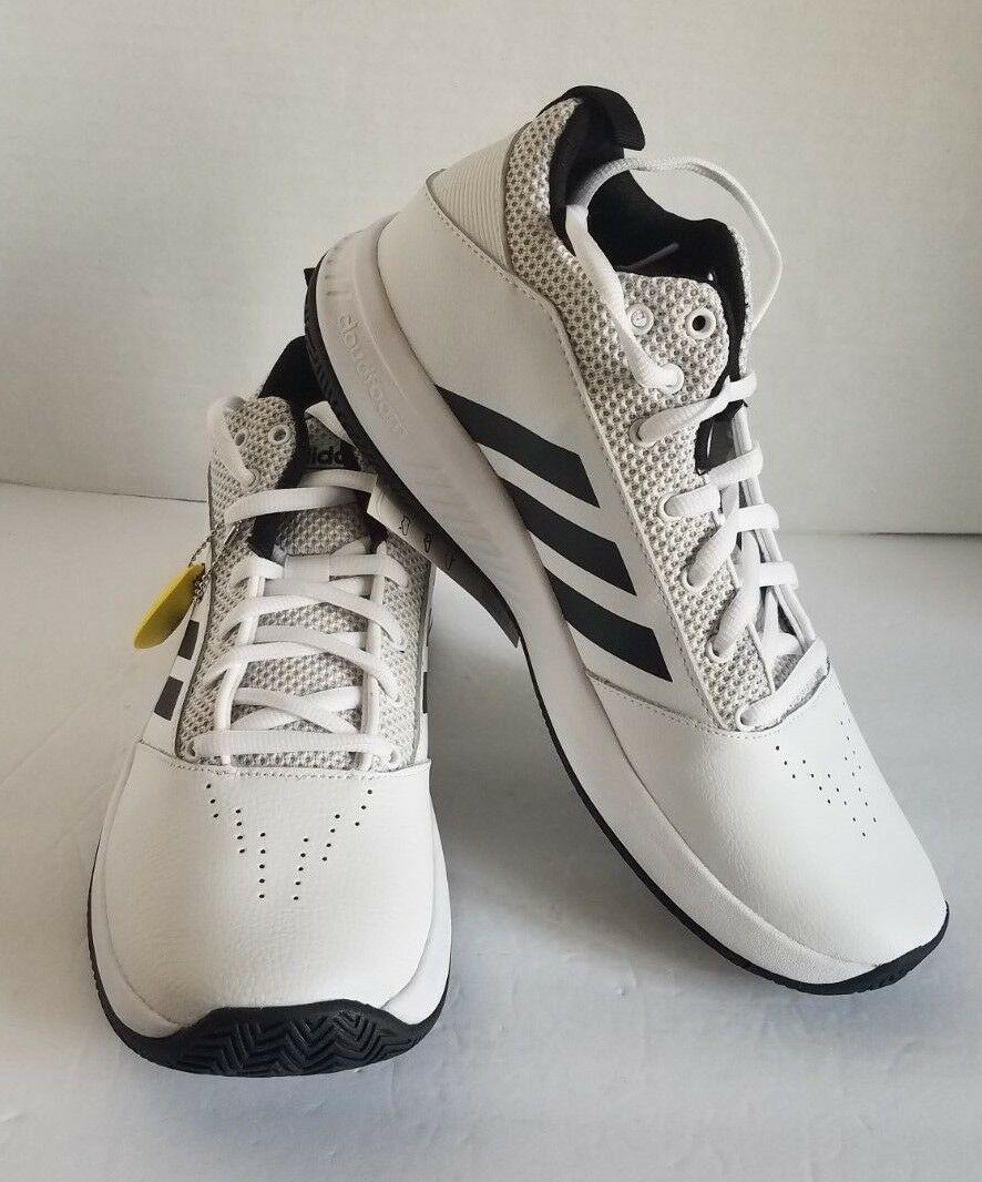 adidas Mens Cf Ilation 2.0 Shoes White Black DA9846