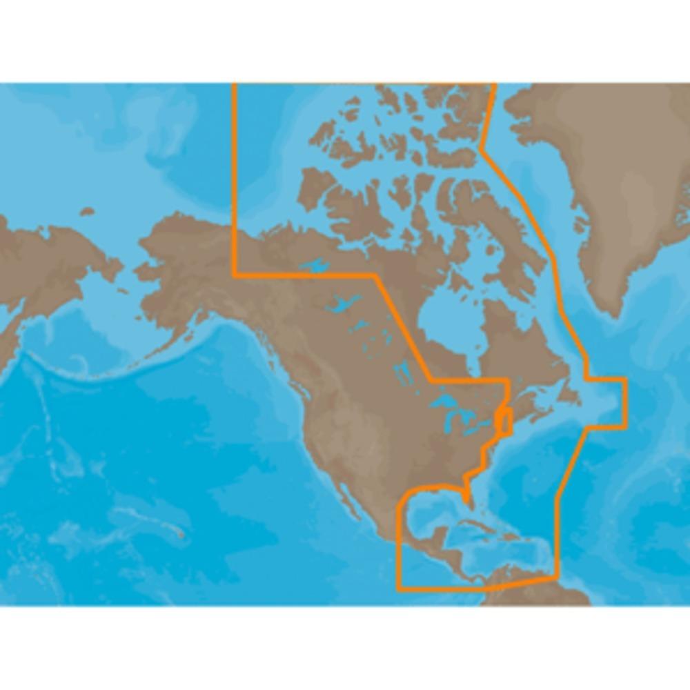 C-MAP MAX NA-M033 - ATL Coast Gulf & Caribbean - SD™ Card