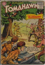 Tomahawk #32 1955-DC-11st sci-fi issue of series-Indian fight cover-robo... - $56.75