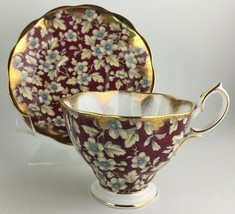 Royal Albert cup & saucer ( BRbugun27 )  - $30.00