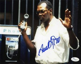 Samuel Jackson Die Hard Signed 8x10 Photo Certified Authentic JSA COA - $395.99